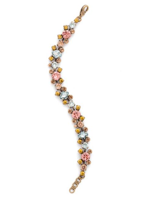 Sorrelli Rustic Blue Crystal Bracelet bdk11agrb