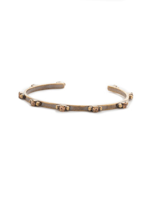 Sorrelli Rustic Bloom Crystal Bracelet BDH2AGRB