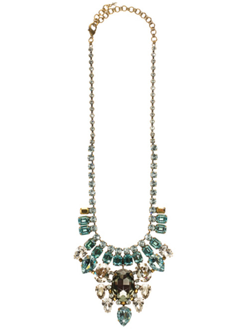 Sorrelli Afterglow- Dripping in Crystals Necklace~ NCR2AGAFG