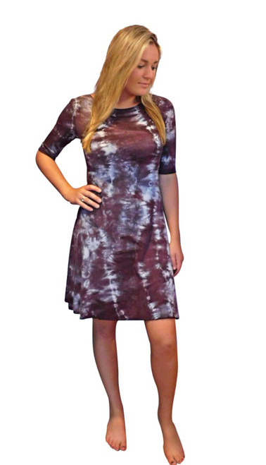 Squid Tangle Bamboo  Dress by Moontide Dyers