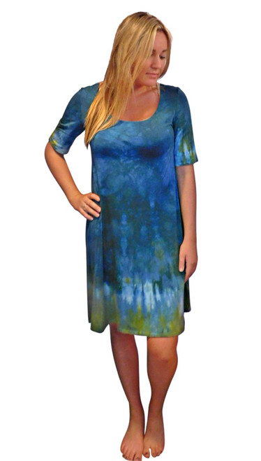 Leafy Sea Dragon  Bamboo  Dress by Moontide Dyers