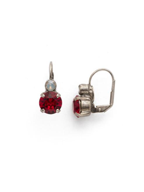Sorrelli CRIMSON PRIDE Crystal Earrings ECW36ASCP