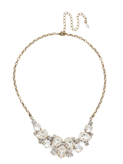 ANTIQUE GOLD CRYSTAL Necklace by Sorrelli NDJ14AGCRY