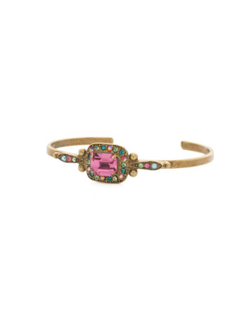 Sorrelli Happy Birthday Crystal Bracelet BDQ50AGHB