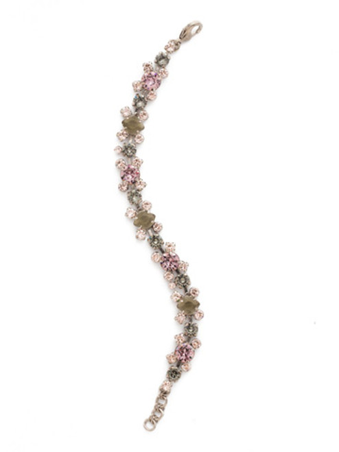 ARMY GIRL Crystal Bracelet by Sorrelli BDK11ASAG