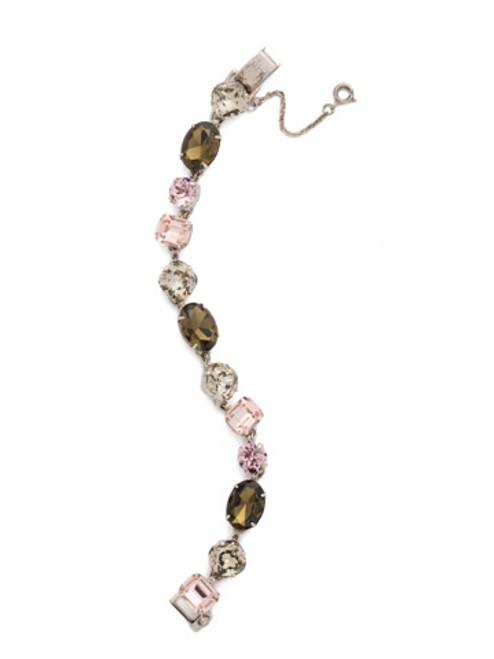 ARMY GIRL-Soft Silhouette Crystal Bracelet by Sorrelli~ BDN3ASAG