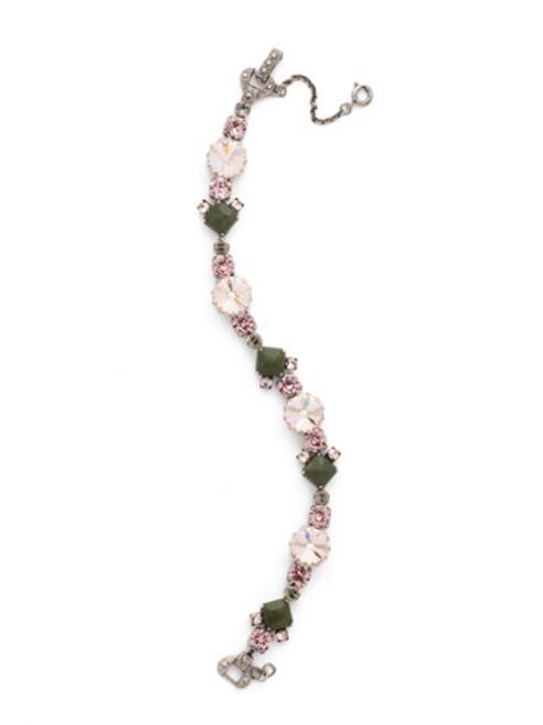 ARMY GIRL- Gingham Classic Line Bracelet by Sorrelli~BDH7ASAG
