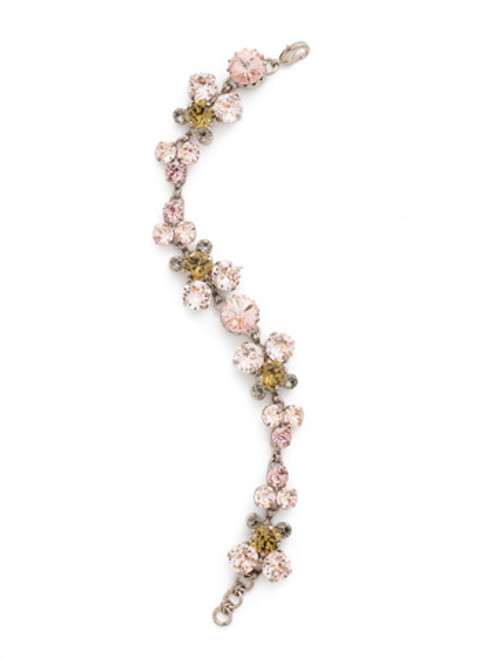 ARMY GIRL- Well-Rounded Crystal Tennis Bracelet by Sorrelli~ BDH24ASAG