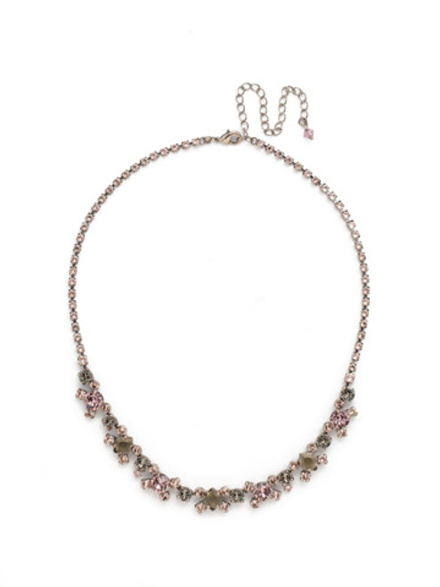 ARMY GIRL Perfect Harmony Line Necklace by Sorrelli~ NDK11ASAG