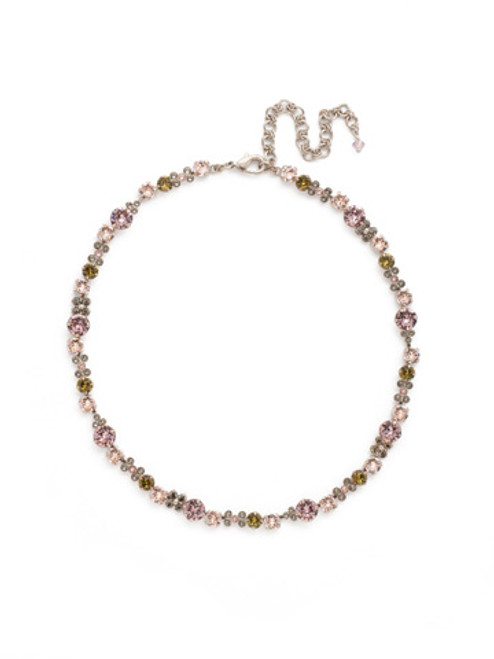 ARMY GIRL- In Bloom Crystal Necklace by Sorrelli~ NDK10ASAG
