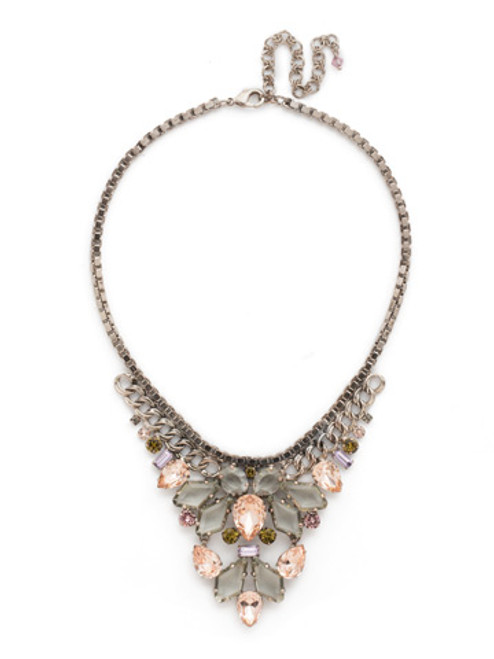 ARMY GIRL Crystal Necklace by Sorrelli NDN104ASAG