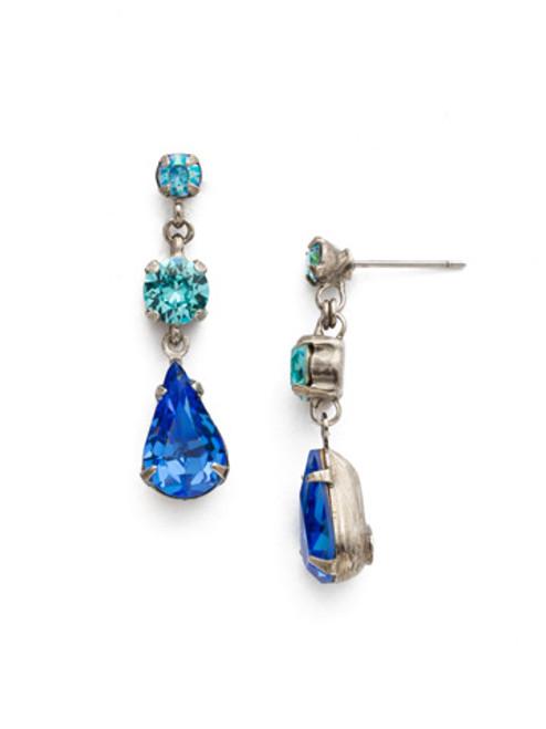 Special Order Ultramarine Crystal Earrings by Sorrelli EDN48ASUM