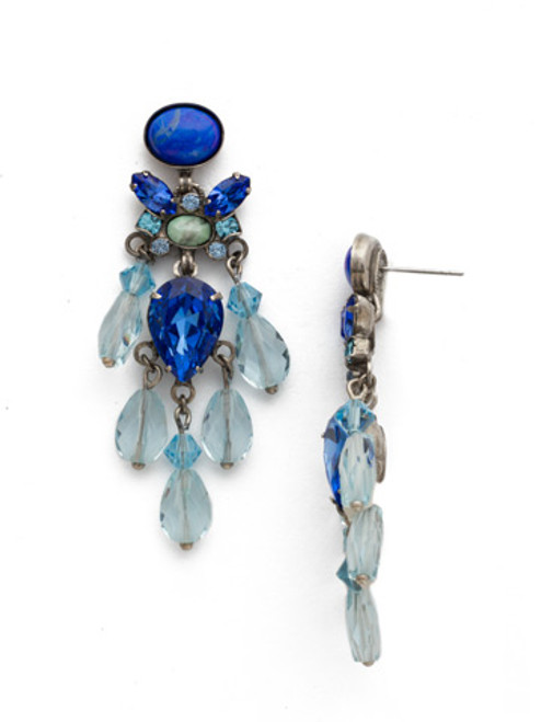 ULTRAMARINE Collection by Sorrelli Crystal Earrings edl43asum
