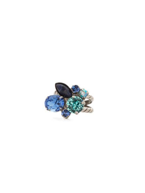ULTRAMARINE Crystal Ring by Sorrelli RDQ48ASUM