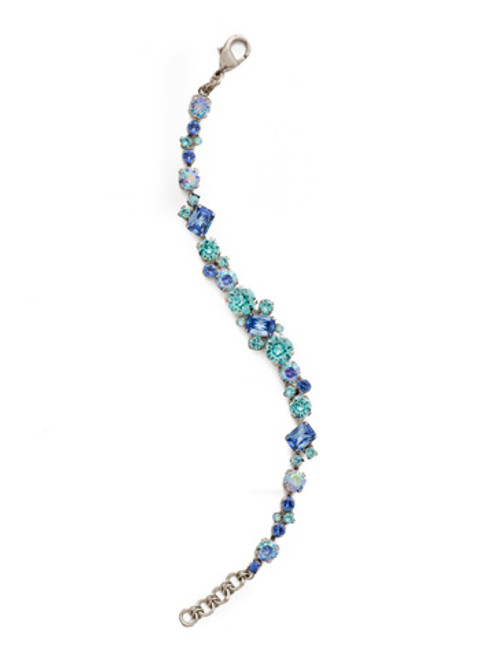 ULTRAMARINE Crystal Bracelet by Sorrelli BDG46ASUM