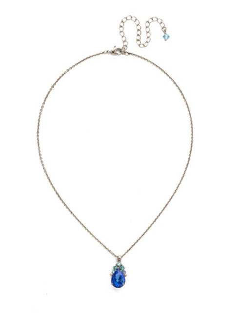 ULTRAMARINE Crystal Necklace by Sorrelli NDQ44ASUM