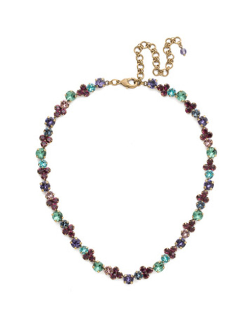 Jewel Tone Crystal Necklace By Sorrrelli ndq36agjt