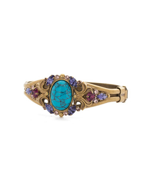 Jewel Tone Crystal Bracelet by Sorrelli BDQ12AGJT