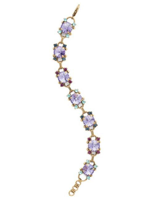Jewel Tone Crystal Bracelet by Sorrelli BDK69AGJT
