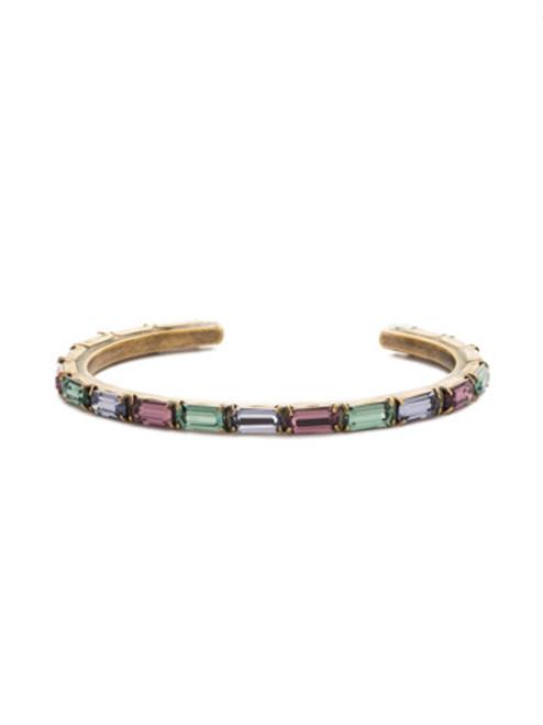 Jewel Tone Crystal Bracelet By Sorrrelli bdk49agjt