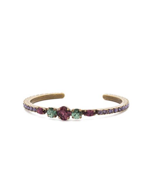 Jewel Tone Crystal Bracelet By Sorrrelli bdq21agjt