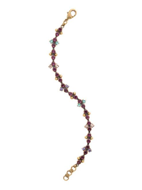 Jewel Tone Crystal Bracelet by Sorrelli BDN55AGJT