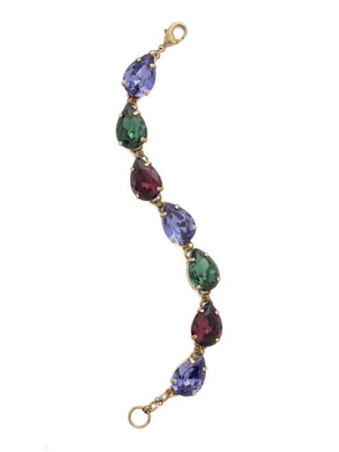 Jewel Tone Crystal Bracelet