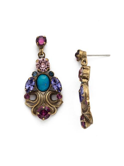 **SPECIAL ORDER** Jewel Tone Crystal Earrings by Sorrelli~EDQ8AGJT