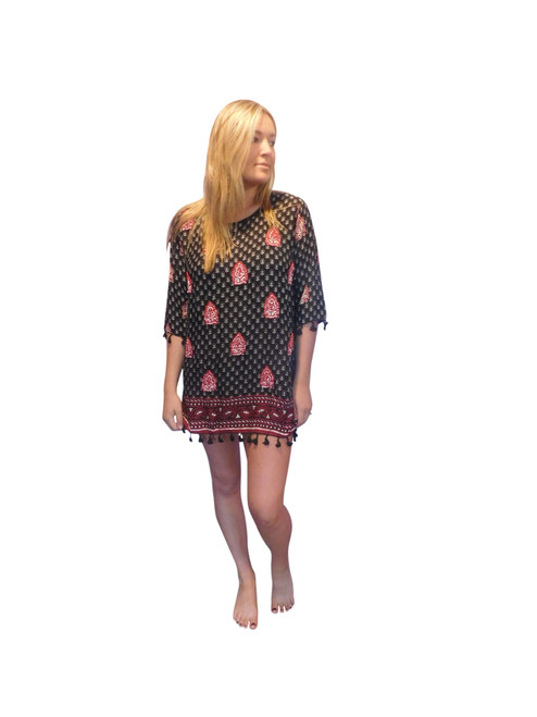embellished dress by lakra