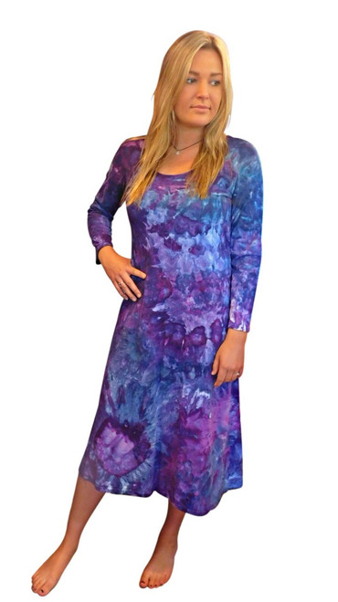 Ice Tye Dye Midi Dress by Martha