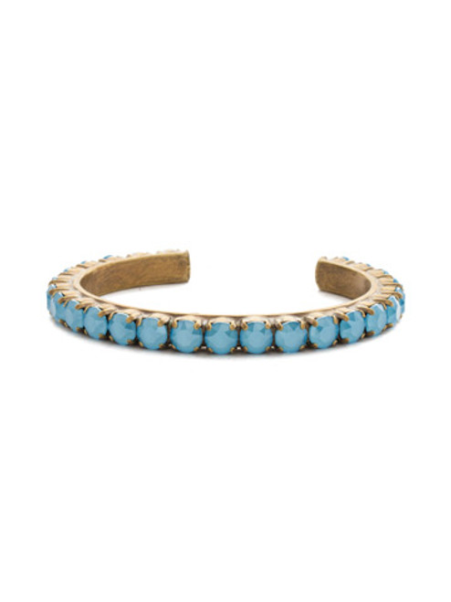 DENIM BLUE Crystal Cuff by Sorrelli BDF7AGSMR