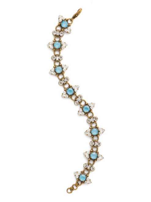 Sorrelli DENIM BLUE Crystal Bracelet