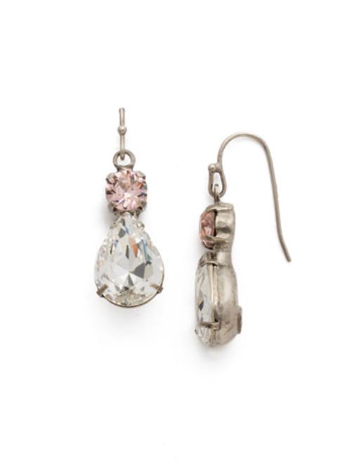 Sorrelli Crystal Rose Earrings