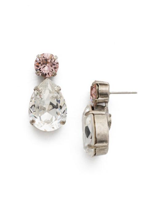 Sorrelli Crystal Rose Earrings ECM9ASCRR