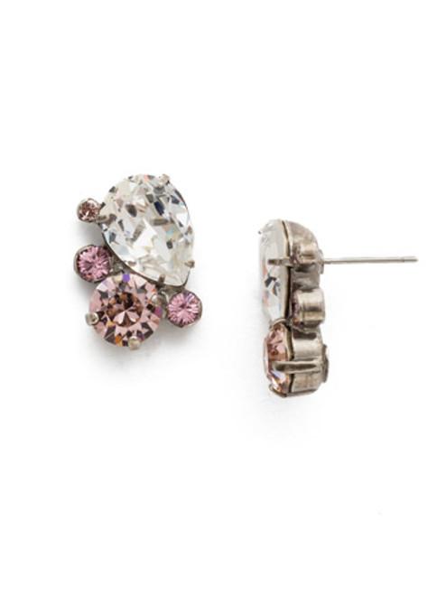 Sorrelli Crystal Rose Earrings EDJ24ASCRR