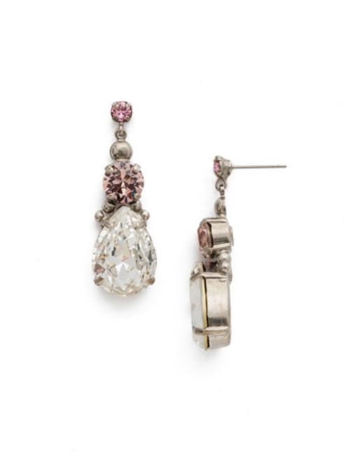 Sorrelli Crystal Rose Earrings ECP1ASCRR