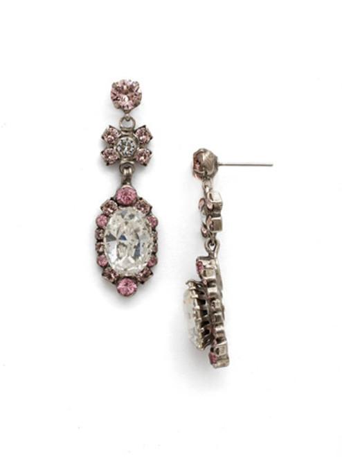 Sorrelli Crystal Rose Earrings EDM44ASCRR