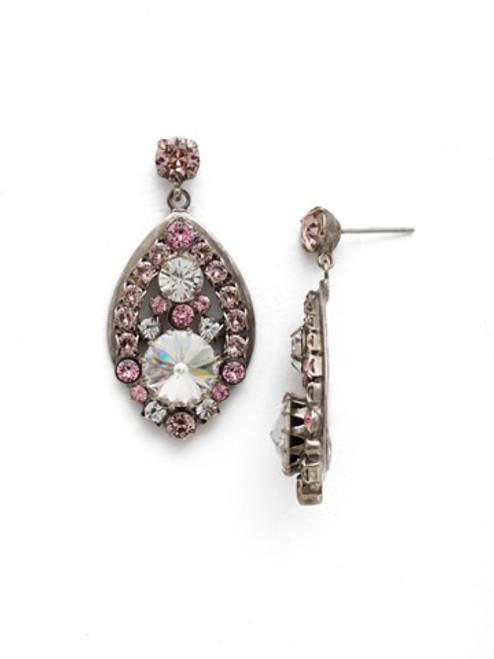 Sorrelli Crystal Rose Earrings EDM46ASCRR