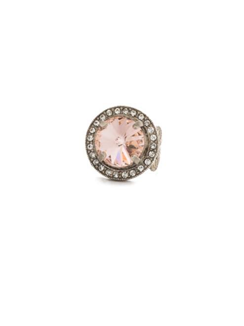 Sorrelli Crystal Rose Ring RCM5ASCRR