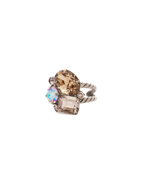 Sorrelli Mirage Crystal  Ring