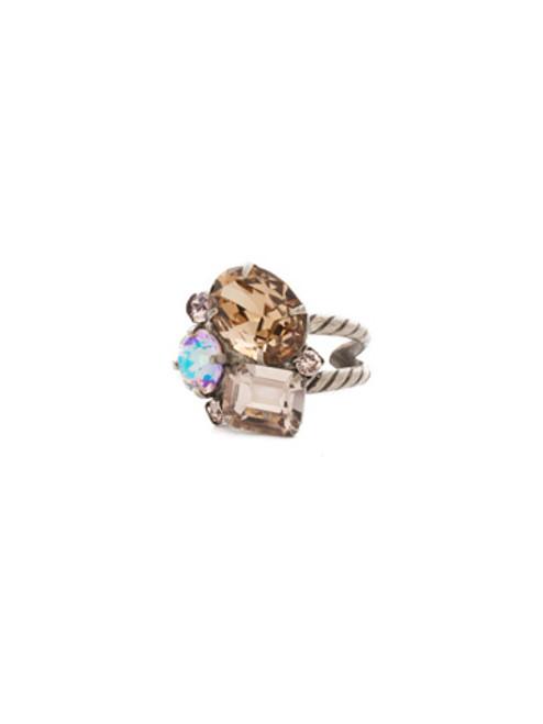 Sorrelli Mirage Crystal Ring RDN71ASMIR