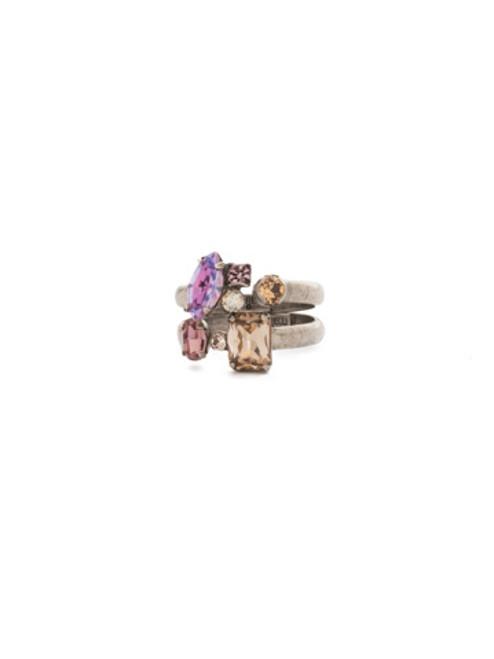 Sorrelli Mirage Crystal Ring RDK50ASMIR