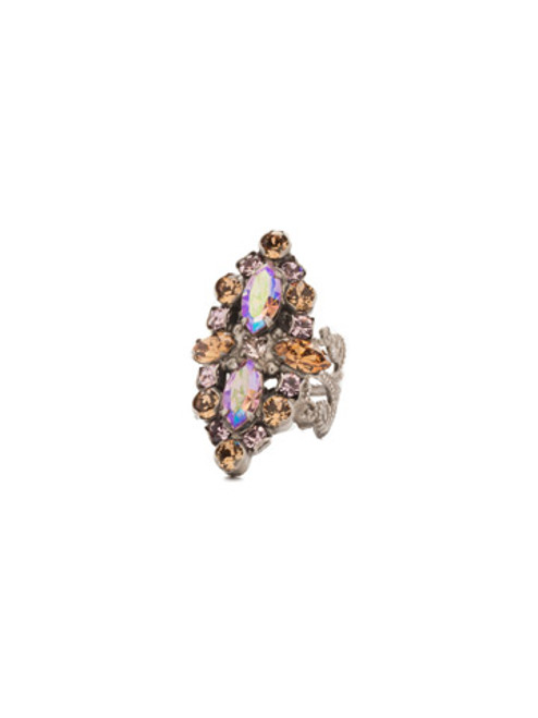 Sorrelli Mirage Crystal Ring rdq30asmir