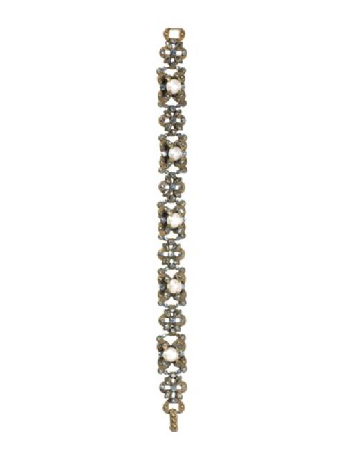 Sorrelli AQUA BUBBLES- Floral Fantasy Crystal Bracelet~ BBW20AGAQB