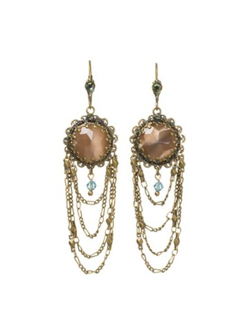 Sorrelli Aqua Bubbles Crystal Earrings~EBU5AGAQB
