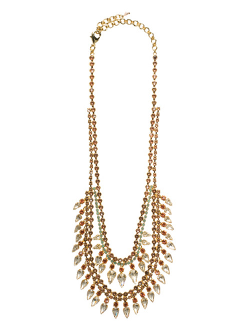 CORAL REEF CRYSTAL NECKLACE BY SORRELLI NCU21BGCOR