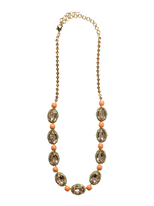 CORAL REEF CRYSTAL NECKLACE BY SORRELLI NCU5BGCOR