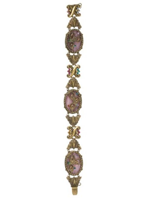 Sorrelli Lollipop Crystal Bracelet BCA1AGLP