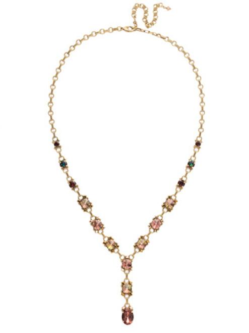 Sorrelli Mahogany Crystal Necklace ndk63agm
