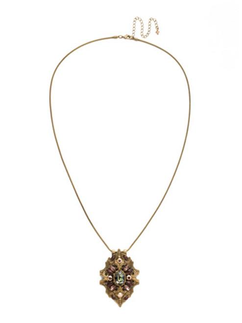 Mahogany Crystal Necklace